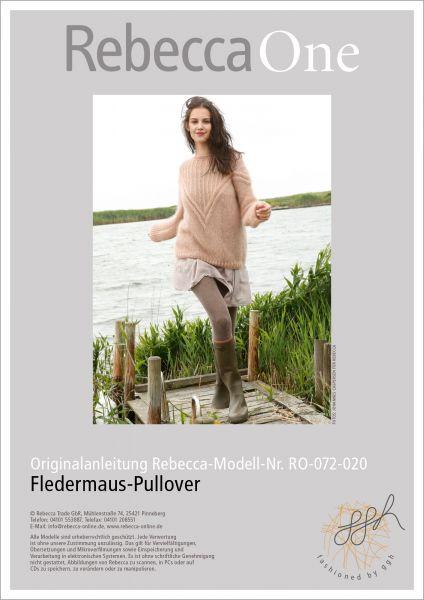 Strickanleitung - Fledermaus-Pullover