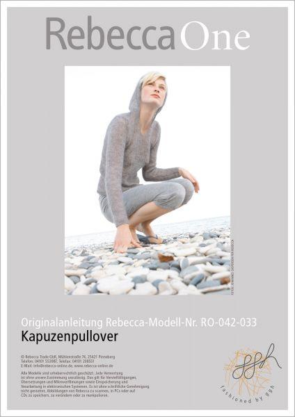 Anleitung - Kapuzenpullover